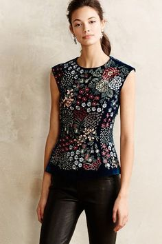 Embroidered Top - anthropologie.com