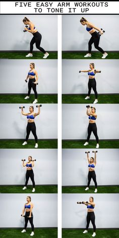 DUMBBELL WORKOUTS TO SCULPT YOUR ARMS Arm workout routine for women. A great at home workout with weights to tone your arms.Arm workout routine for women. A great at home workout with weights to tone your arms. Body Fitness, Fitness Tips, Health Fitness, Physical Fitness, Fitness Exercises, Workout Fitness, Workout Tips, Fitness Quotes, Fitness Planner