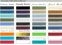 spring summer color trends 2016 - Google Search