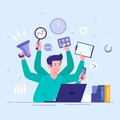 Embracing better ways of working in the 'New Normal' - eGov Magazine Vector Character, Character Design, Character Template, Bellet Journal, Adobe Indesign, Photocollage, Celebration Quotes, Vector Art, Vector Illustrations