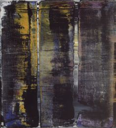 Gerhard Richter, Abstraktes Bild (Abstract Painting), 1994. Oil on canvas. 56cm H x 51cm W. [816-4]