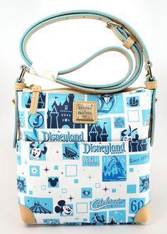 Disney Dooney Bourke Disneyland 60th Diamond Celebration Letter Carrier Purse   eBay