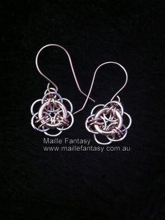 Hille chain earrings by Kelly Clitheroe