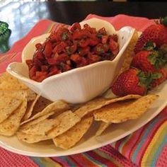 Betty Baker's Strawberry Salsa Allrecipes.com