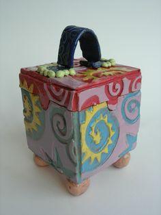 Slab built lidded box - just like I made in highschool