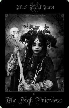 black metal tarot - If you love Tarot, visit me at www.WhiteRabbitTarot.com