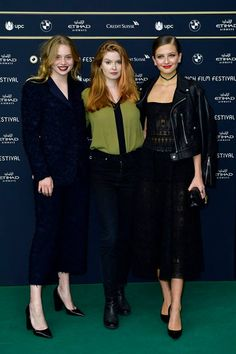 Luna Wedler, Lisa Brühlmann, Zoë Pastelle Holthuizen (ZFF 2017) Cinema Actress, Green Carpet, Wattpad, Actresses, Actors, Film, Movies, Movie Posters, Fashion Design