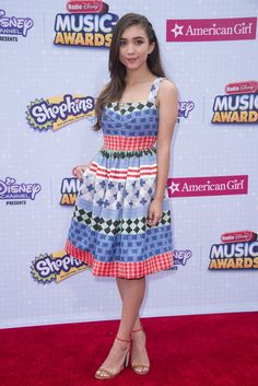 Our favorite Radio Disney Music Awards looks over the years. | Rowan Blanchard | [ https://style.disney.com/fashion/2016/04/24/our-favorite-radio-disney-music-awards-looks-from-over-the-years/#peyton-list ]