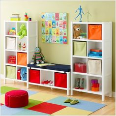 If you are looking for ways to declutter your kids' rooms then here you go for some ideas that you will surely like to try. 1. Storage Bins Under the Beds