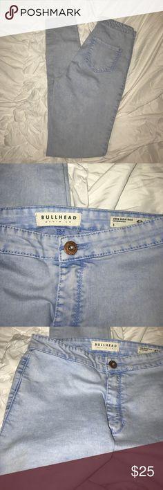 Bullhead Uber High Rise Skinniest Size 5 Never been worn, size 5, light wash Bullhead Jeans Skinny