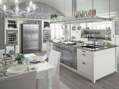 Image from http://amurhotel.com/wp-content/uploads/2014/12/Elegance-White-Kitchen-Designs-With-Wood-Floors-Lovely-Chic-Grey-Floor-White-Kitchen-Decoration-.jpg.