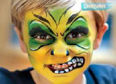 Kid face paint