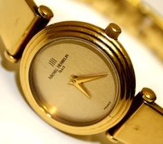 michelle herbelin watches | Women's Watches - MICHEL HERBELIN WOMENS WATCH - GOLD PLATED GOLD DIAL ...