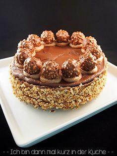 Ich bin dann mal kurz in der Küche: Die LISA Küchenflüsterin über die süßen Seiten des Lebens: Rocher-Torte