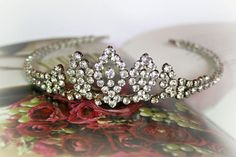 Classic princess tiara - by the Lucky Sixpence Princess Tiara, Wedding Inspiration, Wedding Ideas, Drop Dead Gorgeous, Make Ready, Wedding Hair Pieces, Bridal Hair Accessories, Headpieces, Special Day