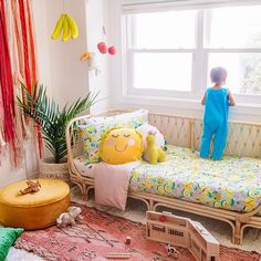 Fruit Salad love with our collab. This pic taken by makes our heart smile and brings all kinds of colourful joy. Mexican Pinata, Real Moms, Drum Shade, Daybed, Bedtime Routines, Toddler Bed, Bring It On, Kids Rugs, Post Today