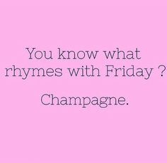 #Friday #champagne