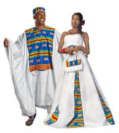 Kente is a ceremonial cloth hand-woven on a horizontal treadle loom, kente comes in strips measuring about 4 inches wide and sown together. Zulu Traditional Attire, Traditional Dresses, Traditional Weddings, Kente Cloth, African Dress, African Outfits, African Style, Africa Fashion, Groom Attire