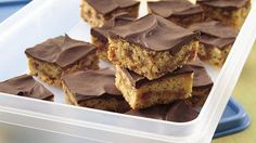 Peanut Butter-Toffee Bars