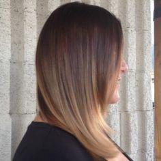Soft Ombre by Makelle #seasonssalon #balayage #colorexpert #color #blonde #weave #melt #ombre