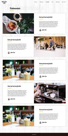 Buy Next door Coffee - Multipurpose PSD Template by krizantos on ThemeForest. Next door Coffee – PSD Template for coffee shop, bar or restaurant. It is clean, modern and elegant PSD template for . Coffee Shop Website, Landing Page Examples, Coffee Shop Bar, Grid System, Next Door, Create Website, Animal Logo, Psd Templates, Restaurant Bar