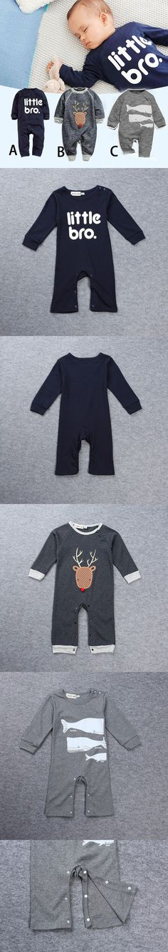 Baby overalls spring autumn baby girls&boys clothes cotton long sleeved one-piece coveralls baby rompers $7.3
