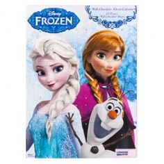 An edible Disney Frozen Advent Calender! Count down the days until Christmas with a chocolate a day!