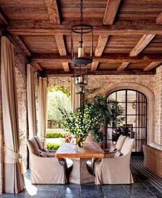 Incredible Fancy French Country Dining Room Design Ideas (4)