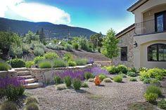 Fantastisch Mediterran, Garten, Mediterraner Garten, Gartengestaltung, Kies,  Gartenideen, Haus, Mediterranes