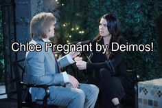 Days of Our Lives (DOOL) spoilers tease that Chloe (Nadia Bjorlin) will get some life-changing news. She'll be shocked to find out she's pregnant with Deimos