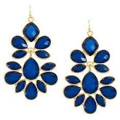 Scarlett Earrings in Blue