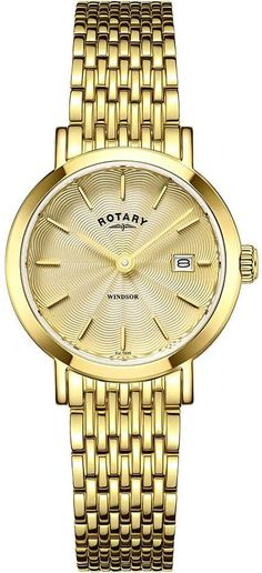 Rotary Watch Ladies Gold Plated Bracelet #add-content #bezel-fixed #bracelet-strap-gold #brand-rotary #case-depth-7mm #case-material-yellow-gold #case-width-27mm #classic #date-yes #delivery-timescale-1-2-weeks #dial-colour-gold #gender-ladies #movement-quartz-battery #official-stockist-for-rotary-watches #packaging-rotary-watch-packaging #style-dress #subcat-rotary-core-ladies #supplier-model-no-lb05303-03 #warranty-rotary-official-lifetime-guarantee #water-resistant-waterproof