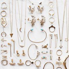 jewel goals // Bohemian gold & turquoise spike cuff, $45