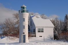 Manning Memorial Lighthouse..Empire Michigan by margo