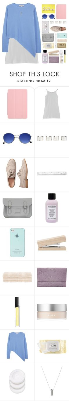 """Pastel Beauty"" by mel2016 ❤ liked on Polyvore featuring Apple, American Apparel, Maison Margiela, Gap, The Cambridge Satchel Company, Davines, Superior, Bungalow 20, Butter London and RMK"