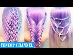 Como Hacer Peinados Faciles y Bonitos & Trenzas Faciles y Bonitas (P8) | Peinado 2016 Yencop - YouTube