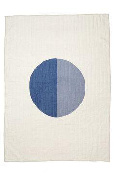 "blueberrymodern: "" full moon indigo quilt - caroline z hurley """