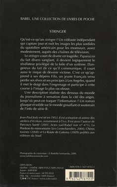 Babel Noir - 2009-11 - Jean-Paul Jody - Stringer (Nouvelle Édition) - Verso