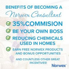 Everything you need to know about becoming a consultant, answered here!  Please contact me with any questions you may have that aren't listed below.  I'm more than happy to help and so excited you're here!  Megan Bell Smith Norwex Independent Sales Consultant 704.657.5572 mailto:smartergreenerclean@yahoo.com http://www.MeganBellSmith.norwex.biz