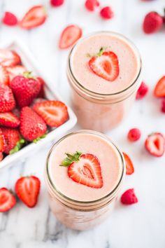 Peanut Butter and Jelly Protein Smoothie | Get Inspired Everyday!