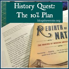 History Quest: The Ten Percent Plan Edition