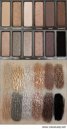 Naked 2 palette @Ashley Urban Decay GORGEOUS!