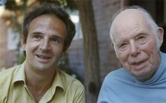 François Truffaut and Jean Renoir