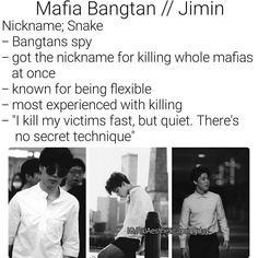 BTS Park Jimin Imagine Mafia Bangtan