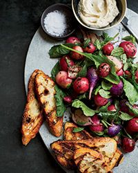 Grilled Radishes with Rosemary Brown Butter Recipe on Food & Wine