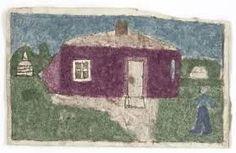 Afbeeldingsresultaat voor James Castle,outsider art.