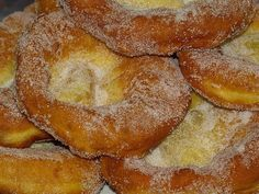 Malassadas are a traditional sweet fried dough which is very typical of the Azores and Madeira islands.