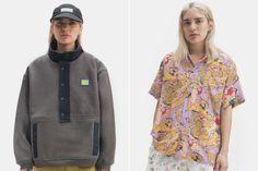 Nova coleção da Brain Dead traz conforto e estampas chamativas Streetwear, Homer Simpson, Stylish, Hawiian Shirts, Warm Colors, Unisex, Sweater Hoodie, Jacket, Creature Comforts