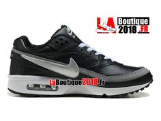 cheap for discount bc667 9bf02 Nike Air Max BW - Chaussures Nike Boutique Pas Cher Pour Homme Noir Blanc  819475