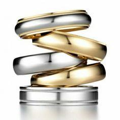 Argollas de matrimonio para hombre con detalles y gravados. Personalízala segun tu estilo #argollas #gold #wedding #love #pin #instagood #fashion #jewelry #fb #tw #weddingband